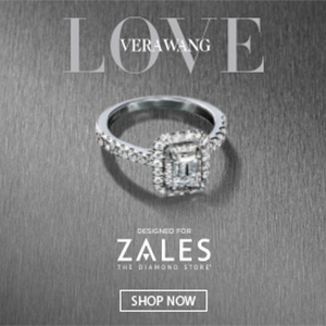 Vera Wang Love, Jewelry collection, Zales Jewelers, banner ads, animated banner ads, google web designer, html5 banner ads